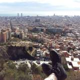 View of Barcelona from the Bunkers of El Carmel. Opportunity to see and travel the world is at the feet of many TEFL teachers.